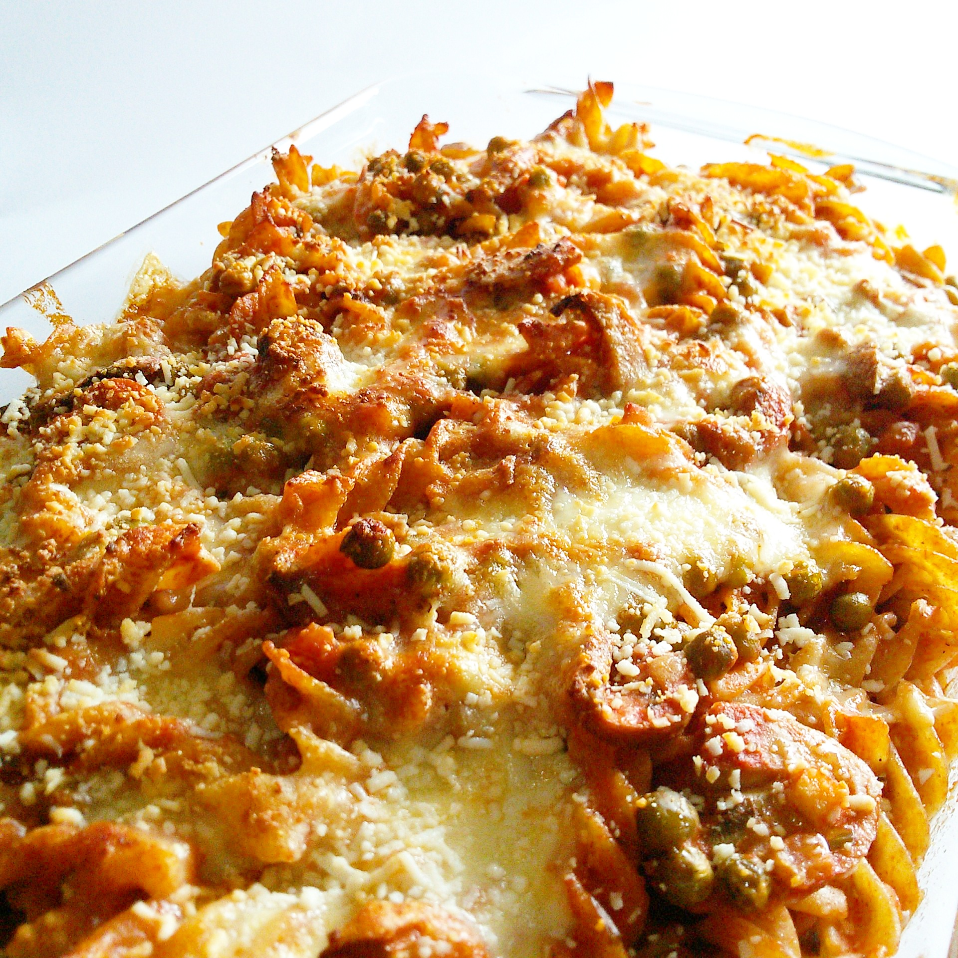 Pasta al forno light