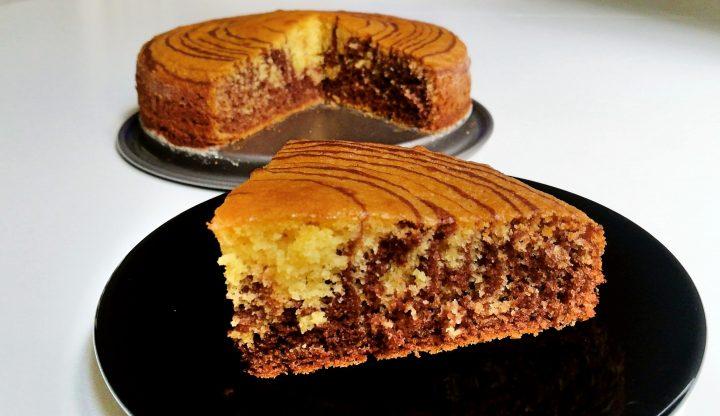 Torta zebrata light