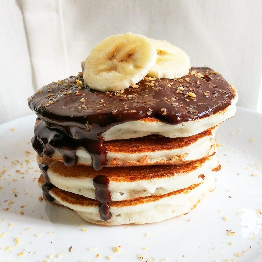 Pancakes alla ricotta e banana