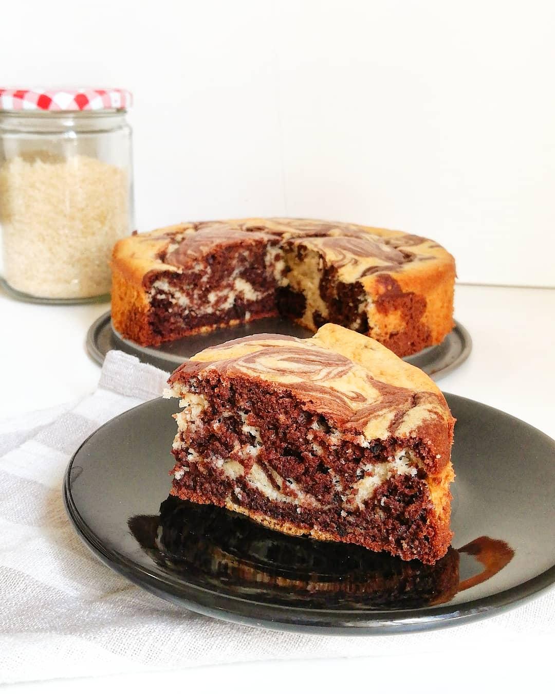 Torta bicolore light